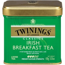Twinings-Irish Breakfast Tea, Loose Tea, 3.53oz/100g (6 Pack)