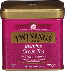 Twinings-Jasmine Green Tea, Loose Tea, 3.53oz/100g (Single)