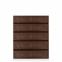 """Valrhona French Chocolate - """"Les Extra Bruts"""" The Grand Classic Extra Bitter Block, 61 % Cocoa, 1kg/2.2lbs"""