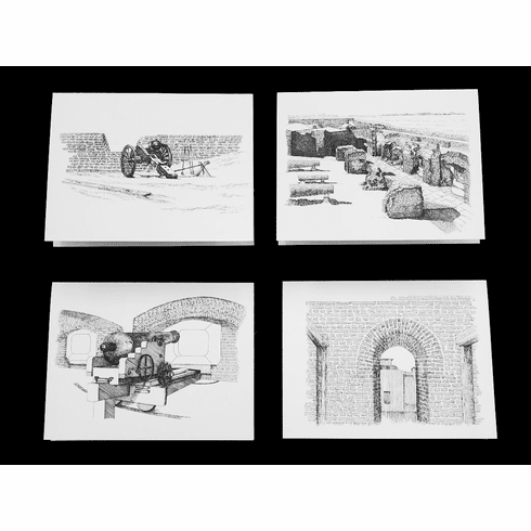 Ft Sumter 4 Note Pack