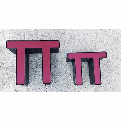 Pi Day - Channel Letter - SMALL