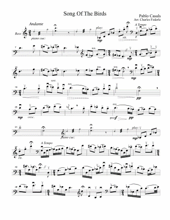 CASALS - Song of the Birds