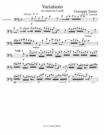TARTINI - Variations on a Theme by Corelli
