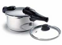 450 Chef's Design Stainless Steel Pressure Cooker 4.8 Quart