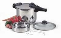 850 Chef's Design Stainless Steel Pressure Cooker 9 Quart