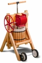 BESTSELLER: Genuine Jaffrey Cider / Wine / Fruit Press With or Without Apple Grinder, Price Shown is Without Grinder and Wheel Kit