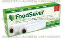 "FoodSaver® T010-00034-010 Two-Pack 11""x 16' Bag Roll"