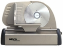 "Nesco American Harvest FS-150PR 150 Watt Food Slicer 7 1/2"" Stainless Steel Solingen Blade"
