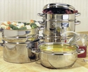 Stainless Steel Juicer/Cooker Set by Victorio