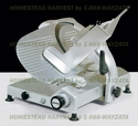 """Omas 12"""" Meat and Food Slicer .35 Horsepower"""