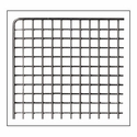 """Stainless Steel Shelf with 3/8"""" Grid for D10 Stainless Steel Dehydrator"""