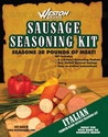 Weston Sausage Seasoning Kit Italian for 30 lbs meat