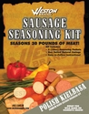 Weston Sausage Seasoning Kit Polish for 30 lbs meat