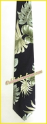 Hawaiian Necktie - 438Black