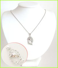 Dolphin Solid Silver Necklace