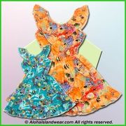 Girl Aloha Dress - 182