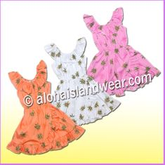 Girl Aloha Dress - 435