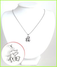 Good Fortune Solid Silver Necklace