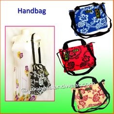 Hawaiian Floral Hand/Shoulder Bag