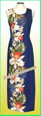 Hawaiian Paradise Dress - 505Navy