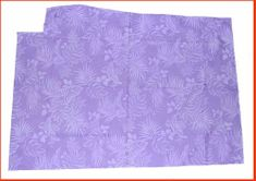 Hawaiian printed Fabric - purple