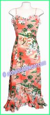 Hawaiian Spaghetti Dress - 50% Off