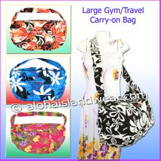 Large Travel/Gym Workout Carry-On Bag