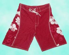 Men Board Short - Red