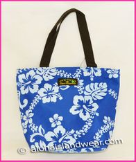 Small Hand Carry Tote Bag - Blue