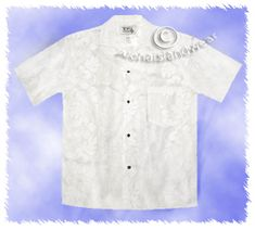 White Women Hawaiian Shirt
