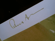 Albee, Edward Early Photo Signed Autograph