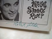 Alda, Robert Steve Lawrence Playbill Signed Autograph What Makes Sammy Run? Jan 1964