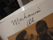 Ali, Muhammad Healing 1996 Book Signed Autograph Photos