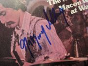 Allman, Gregg Gregory Crawdaddy Magazine 1973 Signed Autograph Allman Brothers Cover Photo
