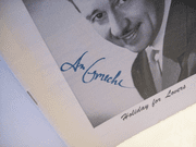 Ameche, Don Playbill Signed Autograph Holiday For Lovers 1957