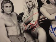 Anderson, Pamela and Yasmine Bleeth Baywatch Photo Signed Autograph Television Scene