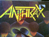 "Anthrax ""Among The Living Tour"" 1987 Concert Program Signed Dan Spitz Charlie Benante Joe Belladonna Frank Bello Scott Ian Autograph Color Photos"