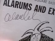 Arkin, Alan Playbill Signed Autograph Alarums and Excursions 1962