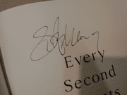 Armstrong, Lance Every Second Counts 2003 Book Signed Autograph Photo