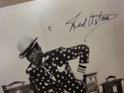 Astaire, Fred  Photo Signed Autograph Swing Time Movie Scene