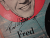 """Astaire, Fred Red Skelton Gloria De Haven """"Three Little Words"""" 1950 Ten Inch LP Signed Autograph MGM"""
