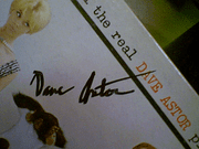 Astor, Dave LP Signed Autograph With The Real Dave Astor Please Stand Up?