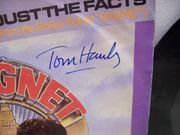 Aykroyd, Dan Tom Hanks 45 RPM with Picture Sleeve Signed Autograph Dragnet