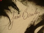 Bailey, Jim LP Signed Autograph Judy Garland Impersonator 1972