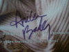 """Baker, Anita  """"Rhythm Of Love"""" 1994 Signed Autograph Promo Store Display Color"""