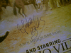 "Banderas, Antonio  ""And Starring Pancho Villa As Himself"" 2003 Color Mini Movie Poster Signed Autograph"