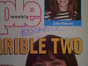 Barr, Roseanne  and Tom Arnold People Magazine 1993 Signed Autograph Color Cover Photo