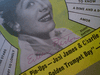 """Barton, Eileen  """"Song Hits"""" Magazine 1954 Signed Autograph Cover Photo"""