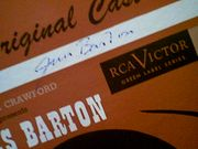 Barton, James  Paint Your Wagon 1952 LP Signed Autograph Original Cast