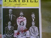 Benjamin, Richard Ken Howard, Estelle Parsons, Paula Prentiss The Norman Conquests 1976 Playbill Signed Autograph Cover Photo